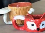 Family Clay - Mushroom or Fox Mug - 07.14.19