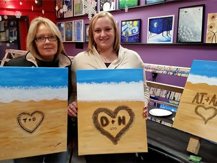 Your Beach - Canvas - Paint and Sip