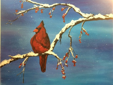 Creative Canvas Class - Cardinal and Bittersweet Nov. 12 & 23
