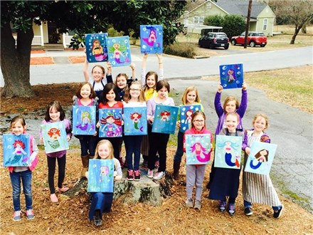 Outdoor - Children's Paint and Ice Cream Party