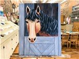 March 6th Horse Canvas
