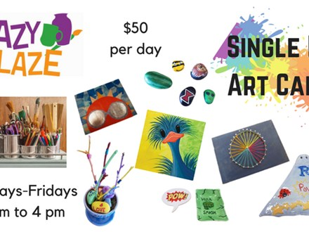 Single Day Art Camp Registration 2019