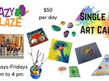 Single Day Art Camp Registration 2018