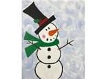 Snowman Kids Canvas - 12/29