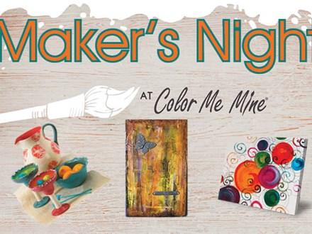 Maker's Night - Fall in Love w/ CMM! - Sept 26