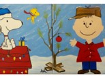 Charlie Brown Christmas - 1 canvas per person. Get comfy and wear your holiday pajama's!