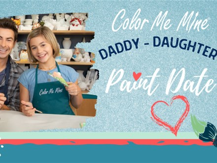 Daddy Daughter Paint Date!