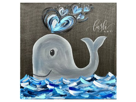 Whale Kids Paint Class - Perry