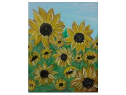 Sunflower Summer - Paint & Sip - Sept 29