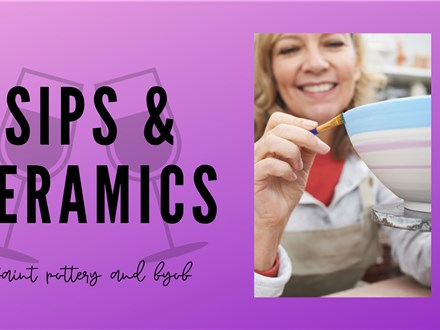 Sips and Ceramics (event fee)