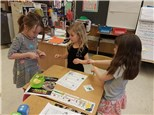 """Students play """"Monster-Dodging Subtraction""""© to help with their subtraction operations' skills!"""