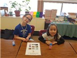 """2nd gr students play """"Tic-Facts-Toe©"""", a picture  version, that helps them with addition practice!"""