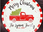 Family Merry Christmas Plate Preorder