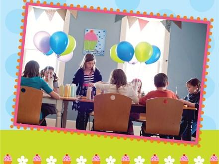 Children's Birthday Party at Crazy Glaze Ceramic Studio