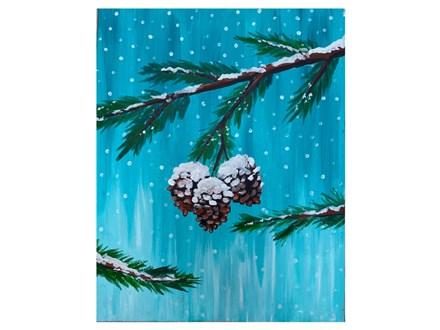 Mt. Washington Adult Pinecone Canvas - Jan 15th