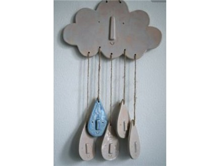 Clay Rain Cloud Wind Chime All Ages Class