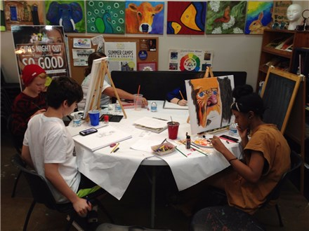 Intro to Art - Fall Class - Teens (12+) - Wednesday 5:00pm