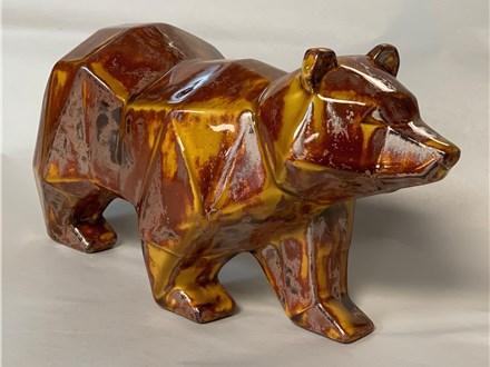 Copper Adventure Bear at Wine Styles Jan. 22