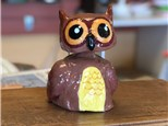 Family Clay - Owl Bobble Head - 11.04.18