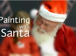 Painting with Santa!