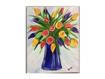 Paint 'n Sip: Vase of Tulips