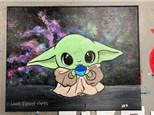 Paint 'n Sip: Baby Yoda