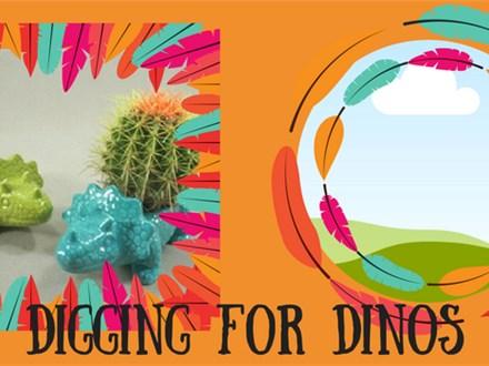Doing Dishes Summer Camp - Dinosaur Adventure
