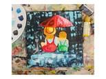 Under the Umbrella Virtual Paint Class