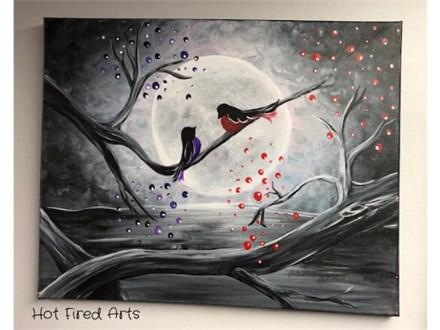 Paint n Sip: Moon & Birds