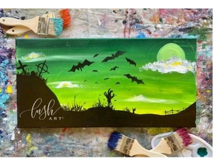 Zombie Graveyard Paint Class