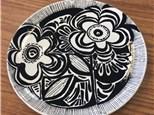 Contemporary Folk Art Pottery