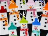 Snowmen Glass Fusing Workshop (11/27/16)