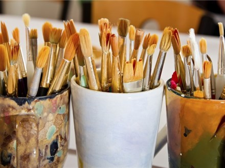 Ceramic Painting Party at Plaster Cottage of Clermont