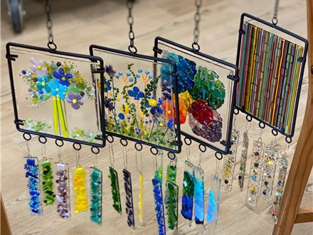 Glass Fused Wind Chime March 31