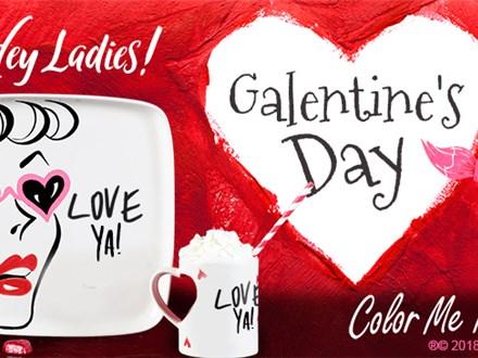 Feb 13th • Galentine's Celebration • Color Me Mine Aurora