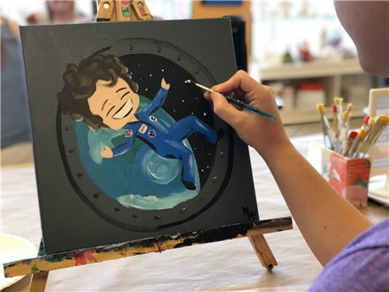 Kid's Canvas - Sally Ride - Evening Session - 03.06.19