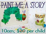 Paint Me A Story: Hungry Caterpillar
