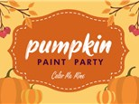Pumpkin Painting Party! Oct, 15th and 20th