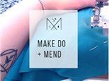 Make Do + Mend: Clothing repair with a machine