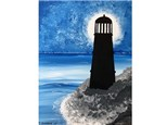Canvas & Wine Night! Lighthouse Silhouette! 4/16/19