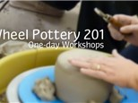 Wheel Pottery 201: One Day Workshops