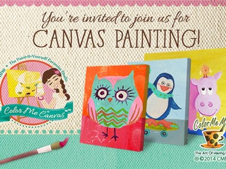 Kids Canvas Party Package