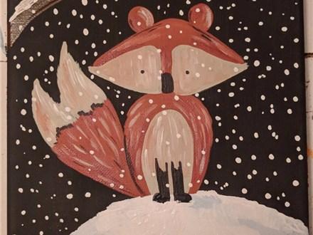 Fox Painting (Toni) 11/29 6-9PM