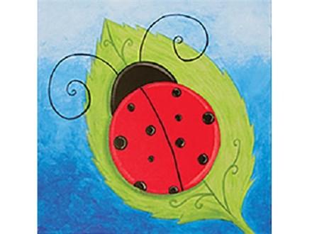 Kids' Canvas Class! Ladybug! 12/26/18
