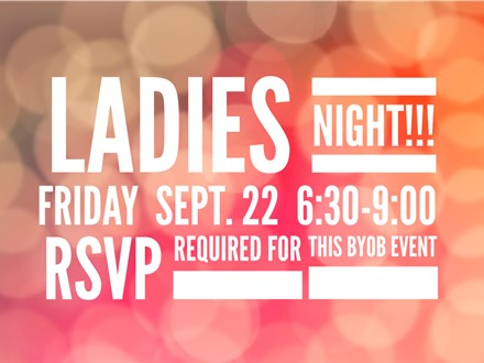 Ladies Night at Earth Fire Art - 9/22