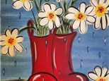 Kids Canvas Painting - Rain Boots
