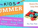 Kids Art Workshop - Game Day 7/7
