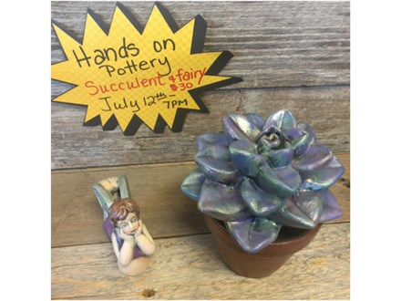 You Had Me at Merlot - Succulent & Fairy - July 12th