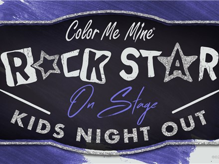 Rock Star On Stage Kids Night Out - April 10, 2020