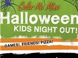 Halloween Party Kids Night Out at Color Me Mine - Henderson, NV 10/26/18